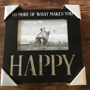 """New Family Picture Frame Photo Happy 4""""x6"""""""